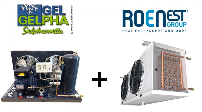 Kits unidad condensadora + evaporador